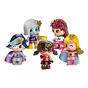 Pinypon - Pack 5 Superheroínas