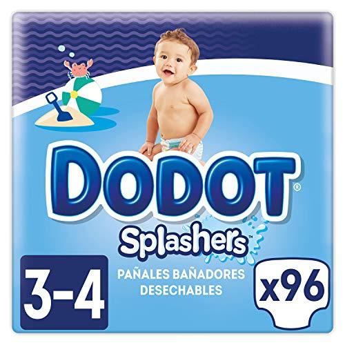 Dodot Splashers Talla 3, 96 Pañales bañadores desechables