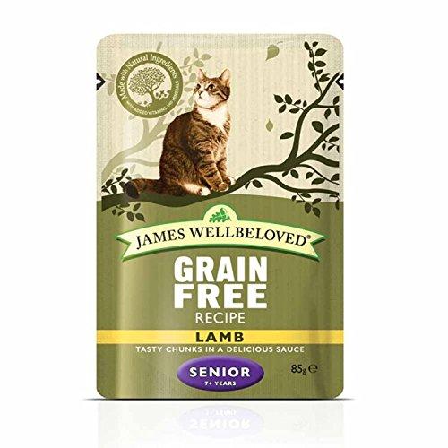 Other James Wellbeloved - Bolsas de gato (48 x 85 g), color amarillo Una comida para gatos saludable y bien equilibrada