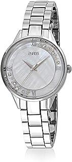 ساعة يد نسائية من زايروس ، انالوج بعقارب ، سوار معدني ، فضي ، ZY144L111129