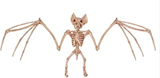 CXZC Halloween Animal Skeleton 2 Assorted Rat Bat Halloween Party Decoration Prop - Ideal Halloween for Kids
