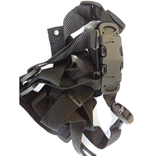 Peg Perego, cintura di sicurezza a 5 punti, di colore nero, codice articolo 22, adatta per passeggino Pilko P3