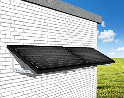 Mini Photovoltaikanlage Plug & Play 310Watt Solar Fassade