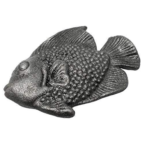 Vintage Zaun- Gartendeko Fisch Gußeisen Gußeisen Garten Tore Shabby Chic Look Teich Deko von SO-TOOLs®