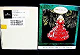 Hallmark 1996 Barbie Hand Sculpted Collector's Club Edition Ornament Based on The 1988 Happy Holidays Barbie Doll-New in Original Shipper Box-Very Rare