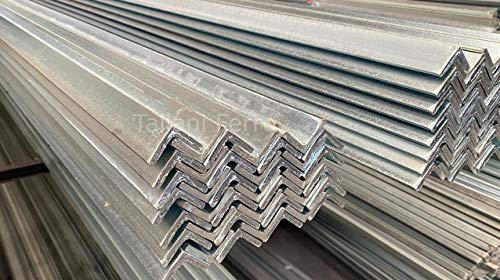 Barra angular de hierro galvanizado. Sección 30 x 30 x 2 mm. 3 metros de longitud. Taliani Ferro