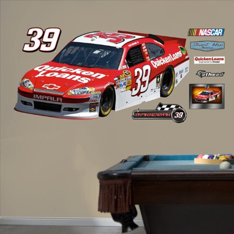 Fathead 33-33072 Wall Decal, Ryan Newman No.39 Quicken Loans Car
