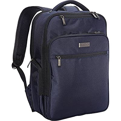 """Kenneth Cole Reaction Brooklyn Commuter 16"""" Backpack Navy One Size"""