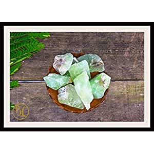 Green Calcite Gemstone 3 Piece Set Healing Crystal Kit Intention Set