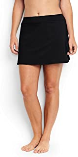 Lands' End Women's Plus Size SwimMini Swim Skirt with...