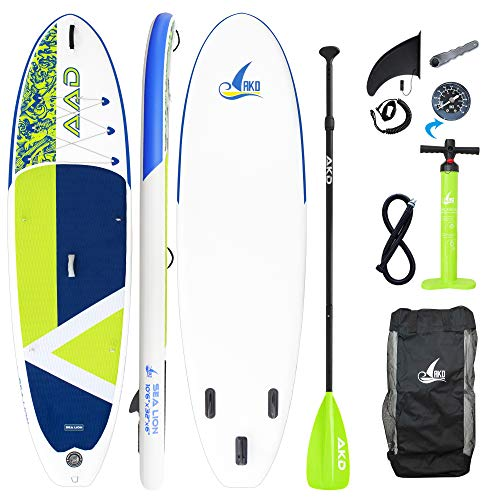 AKD Stand Up Paddle Gonflable Kayak 320x81x15cm...
