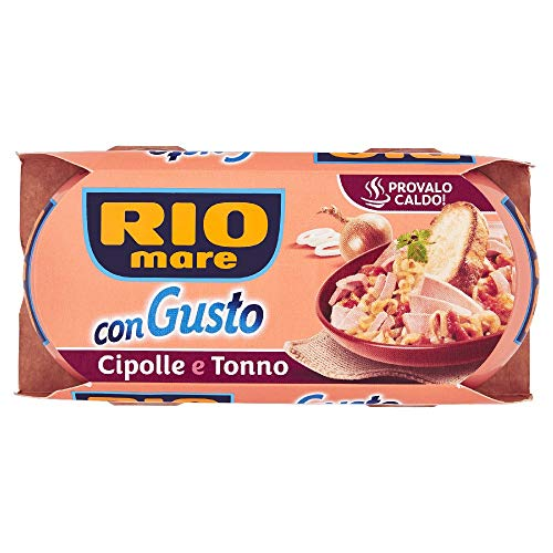 Rio Mare - ConGusto Cipolle e Tonno, Piatto Pronto da Gustare anche Caldo, 2 Lattine da 160 g