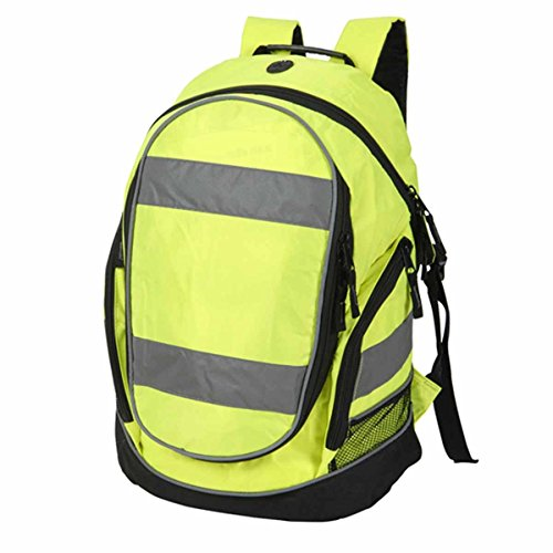 Shugon Hi Viz Rucksack - Colour Hi-Vis Yellow - Size O/S