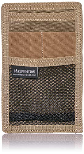Maxpedition Gear Hook and Loop Mini Organizer, Khaki