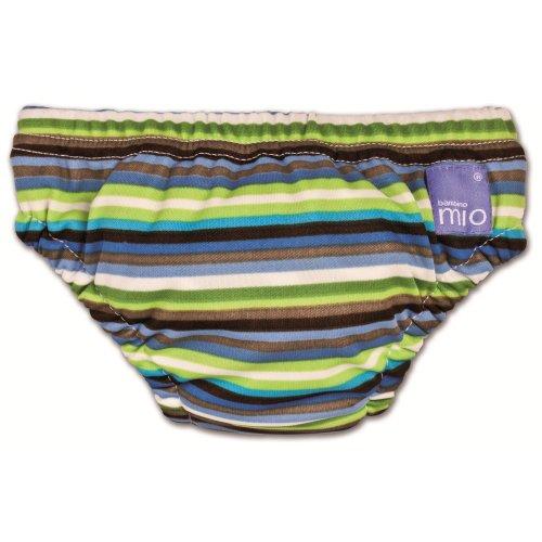 Bambino Mio SWPSK Slip Piscina Small (5-7 kg) Brown Stripe