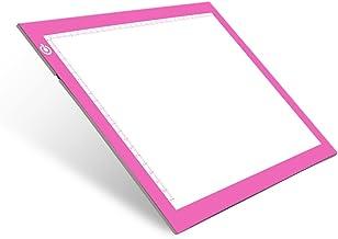 نور پد رسم A4 ردیابی نور جدول NXENTC صفحه نمایش کپی هیئت مدیره فوق العاده نازک صفحه نمایش روشنایی قابل تنظیم استنسیل هنری ردیابی هنر تتو جدول صورتی