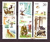philaseum Briefmarken: DDR 1977, Mi.Nr. 2270-2275, Jagdwesen, Postfrisch (Mi. 3,50 EUR)