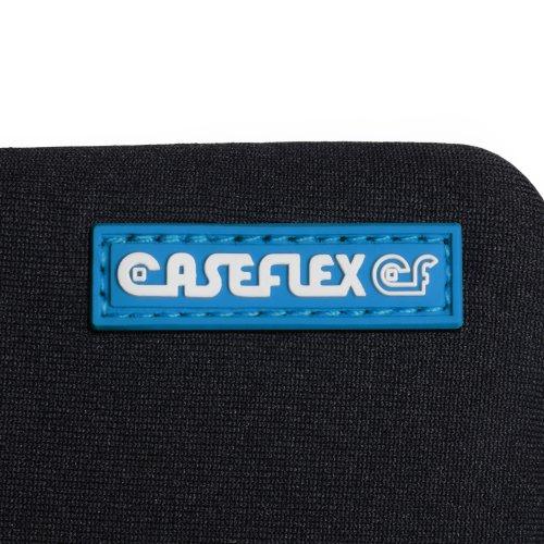 Huawei Ascend W1 Zubehör Tasche Schwarz Neopren Beutel Hülle Und Griffel Stift Mit Caseflex Kompatibel Für Logo - 4