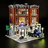 LIGHTAILING Conjunto de Luces (Creator Expert Taller de la Esquina) Modelo de Construcción de Bloques - Kit de luz LED Compatible con Lego 10264 (NO Incluido en el Modelo)
