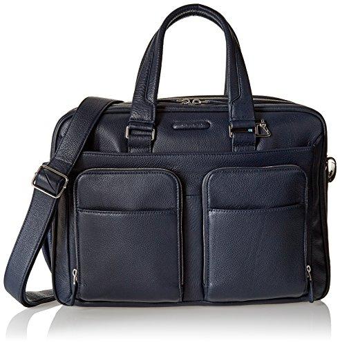 Piquadro Ca2765mo - Bolsa organizadora para hombre, color azul