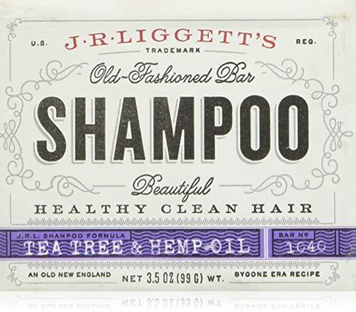 J.R.Liggett's Tea Tree & Hemp Oil Shampoo Bar  99g