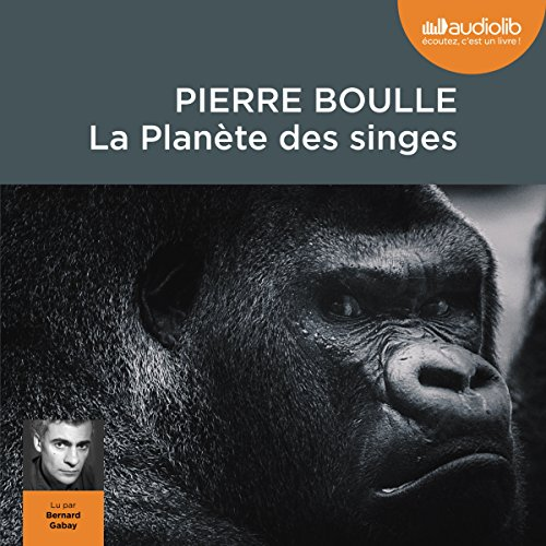 La Planète des singes audiobook cover art