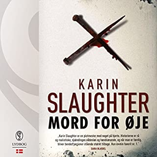Mord for øje audiobook cover art