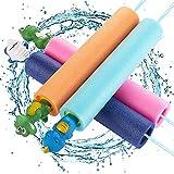 joylink Pistola de Agua, Pistola de Agua de Espuma EVA Super Soaker Water Gun Pistola de Agua Blaster Juguete Infantil para Batalla de Juegos Piscina Playa
