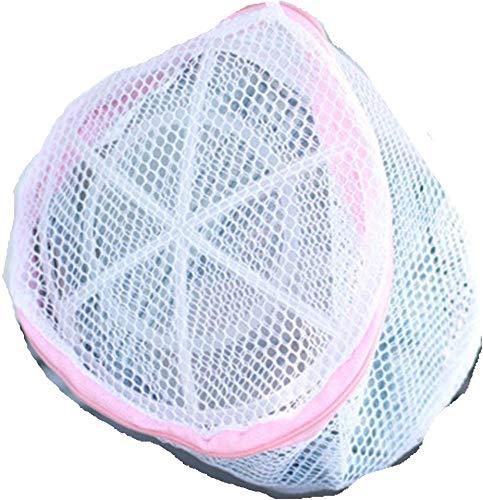 Weilifang Lingerie Washing Mesh Bag Clothing Underwear Zipper Storage Organize Pouch Laundry Net Bag for Bra Socks T-shirt
