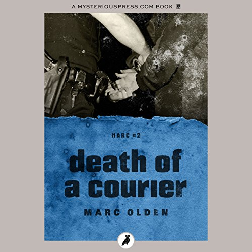 Death of a Courier audiobook cover art