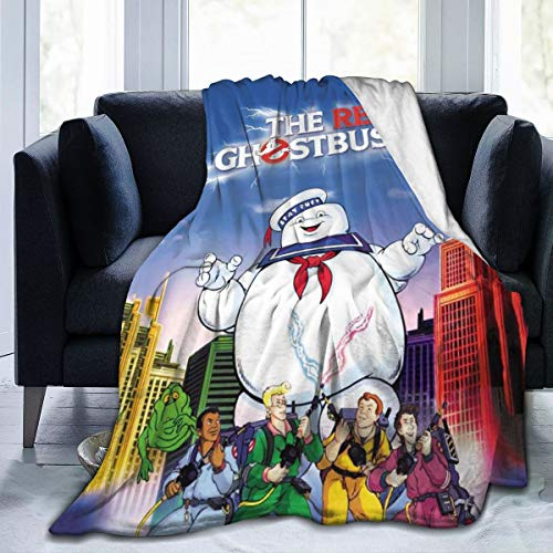 Stay-puft Ghost-World-Buster Ultra-Soft Micro Fleece Blanket Throw Super Soft Fuzzy Lightweight Hypoallergenic Plush Bed Couch Living Room