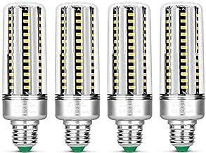 KLED 4Pack LED Corn Light Bulb, 25W, E27 Socket, 6000K Cool White, 180W Equivalent,2000Lumen,LED Light Bulb for Home, Ware...