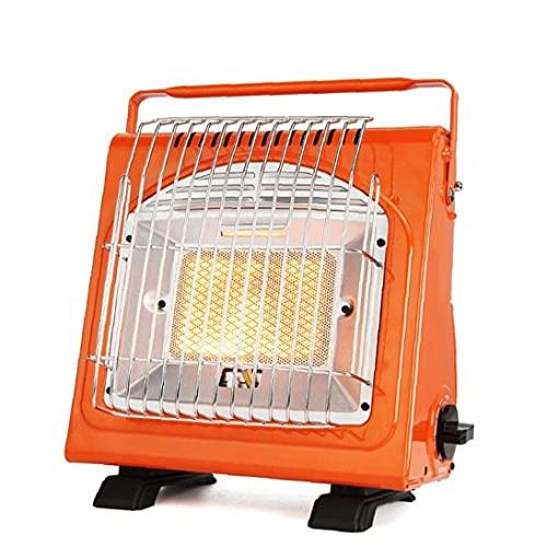 YepYes Coche Calentador de Gas, Calentador de Espacio Ligero, Mini Calentador de Habitaciones, Acampar de calefacción, Equipo al Aire Libre, Naranja
