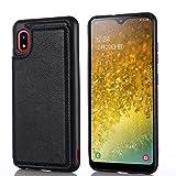 【 Viesa 】 2020最新版 背面カード 手帳型ケース Galaxy A20 / A21 / docomo SC-02M / SC-42A……