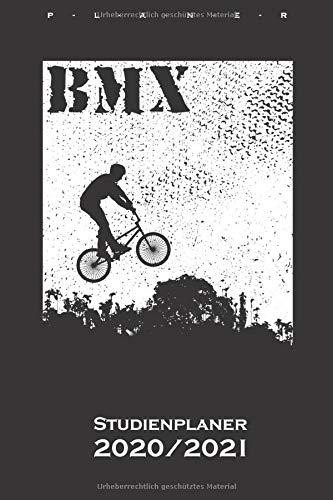 BMX Bike Studienplaner 2020/21: Semesterplaner (Studentenkalender) für alle Liebhaber und Fans des Zweiradsports