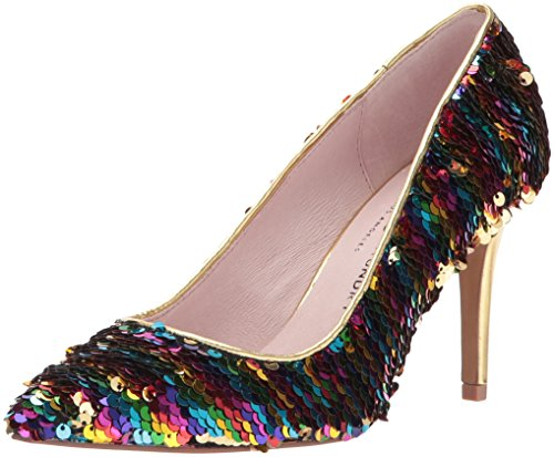 Chinese Laundry Women's Ruthy Dress Pump, Rainbow Sequins, 7.5 M US