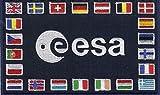 ESA Nationen Patch - Adesivo quadrato