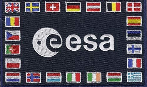 ESA Nationen Patch/Emblem/Sticker quadratisch