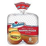 Hostess Hamburger Buns, 8 Count (Pack of 4)