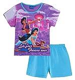 Disney - Pyjama deux pièces - Manches longues - Fille - Violet - 7-8 ans