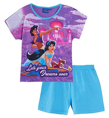 Lora Dora Mädchen Schlafanzug Violett violett Gr. 3-4 Jahre, Dreams Soar