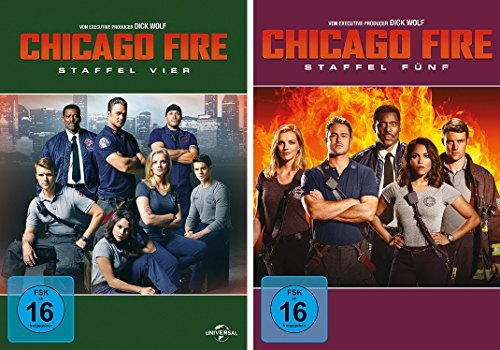 Chicago Fire - Staffel 4+5 (12 DVDs)