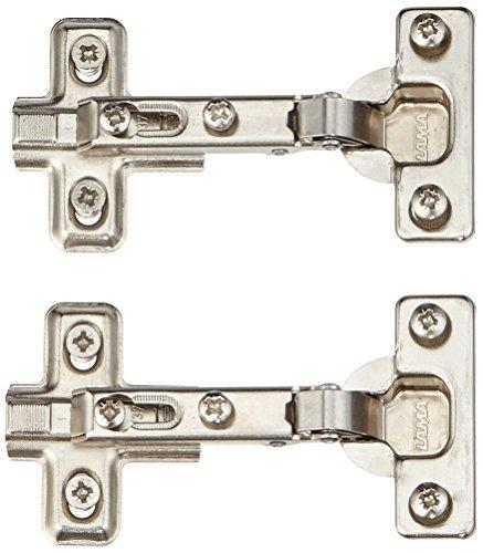 HSI 924669.0 Topfbänder Mini mit Feder für Außentür 0/26mm 2 St, 2 Stück