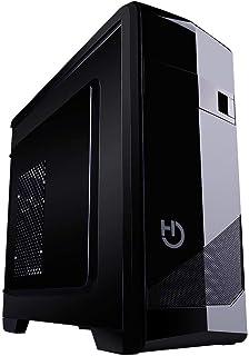 Hiditec Cha010021 Caja Semitorre ATX M10 Pro 2Usb 3.0 USB 2.0 Lector Tarjetas Screwless System Microatx Negro Glossy