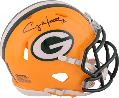 Clay Matthews Green Bay Packers Autographed Riddell Speed Mini Helmet - Fanatics Authentic Certified