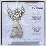 The Grandparent Gift Co. Baby in Heaven, Always an Angel Hanging Metal Bereavement Boxed Memorial Ornament