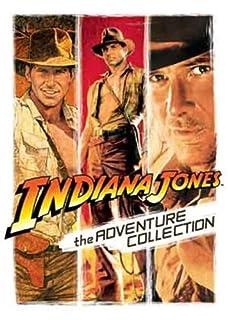 Indiana Jones: The Adventure Collection (Raiders of the Lost Ark, Temple of Doom & Last Crusade) [DVD] (B0014CDVF4) | Amazon price tracker / tracking, Amazon price history charts, Amazon price watches, Amazon price drop alerts
