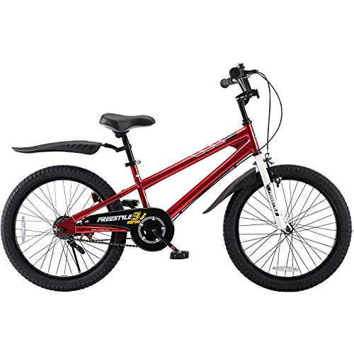 Product Image of the RoyalBaby Kids Bike Boys Girls Freestyle BMX Bicycle With Kickstand Gifts for...