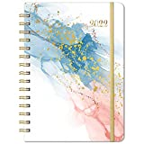 2022 Planner - Weekly & Monthly Planner from Jan 2022 to Dec 2022, 6.4'x 8.5', Planner 2022 with Flexible Cover, Planner with Elastic Closure, Coated Tabs, Inner Pocket