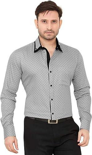 Men S Slim Fit Casual Shirt